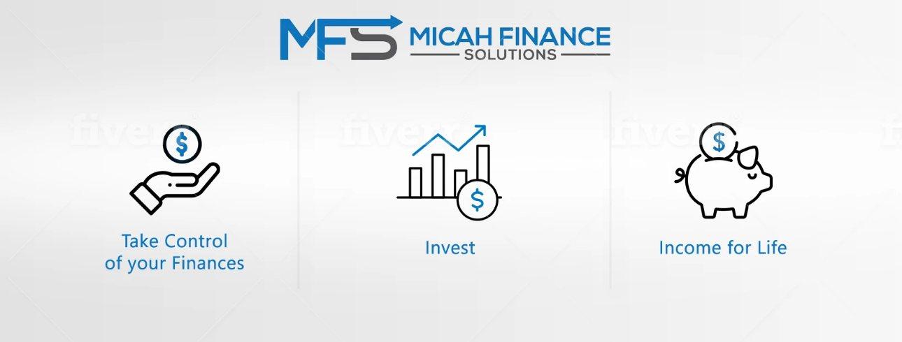 Money management - invest - cash flow for life